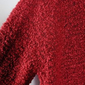 Ambiance Sweaters - Ambiance Burgundy Red Cardigan Sweater Sz M NEW